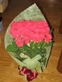 花王エコナバラの花束当選品