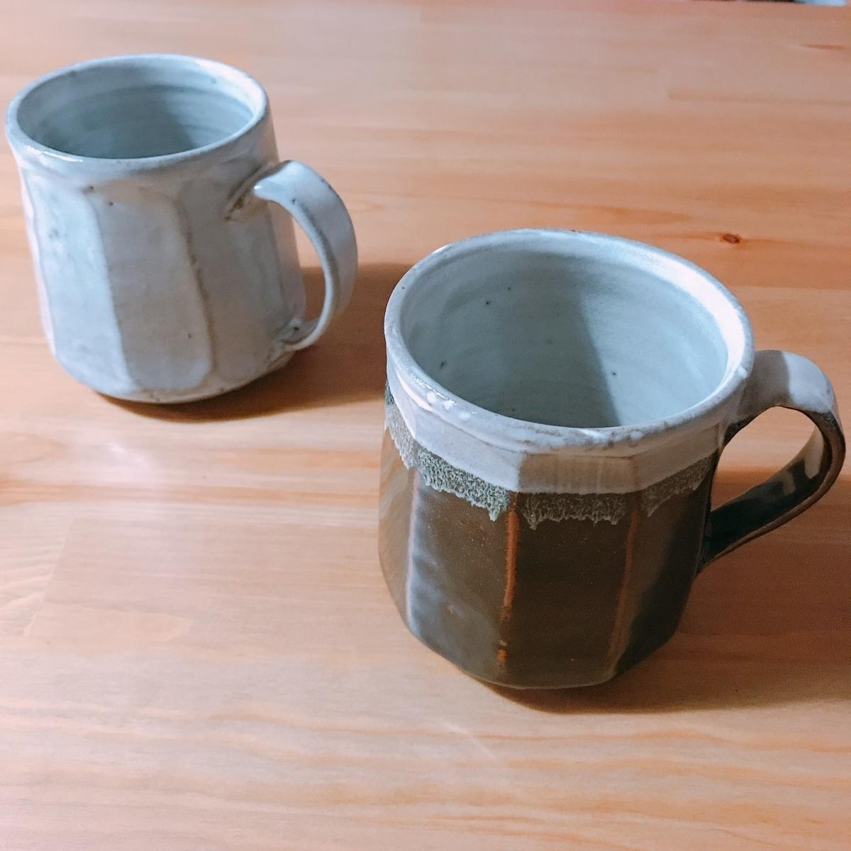 購入したマグカップの写真