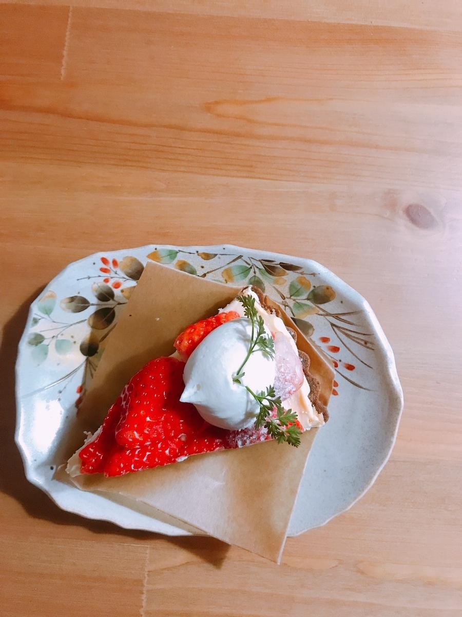 苺のタルト写真