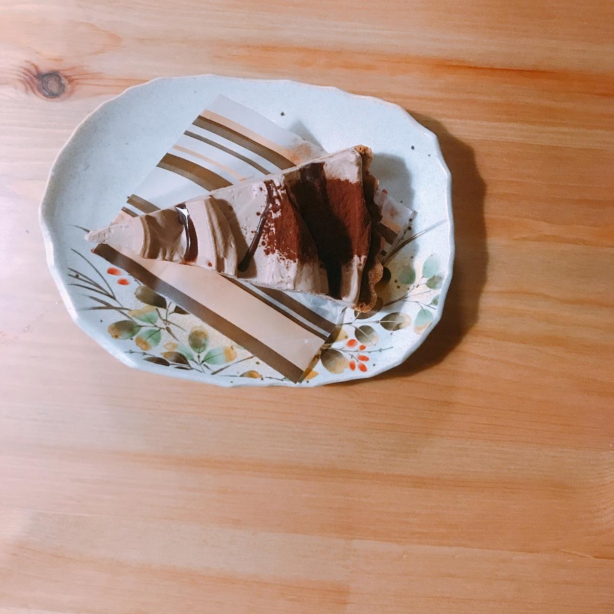 チョコバナナタルトの写真
