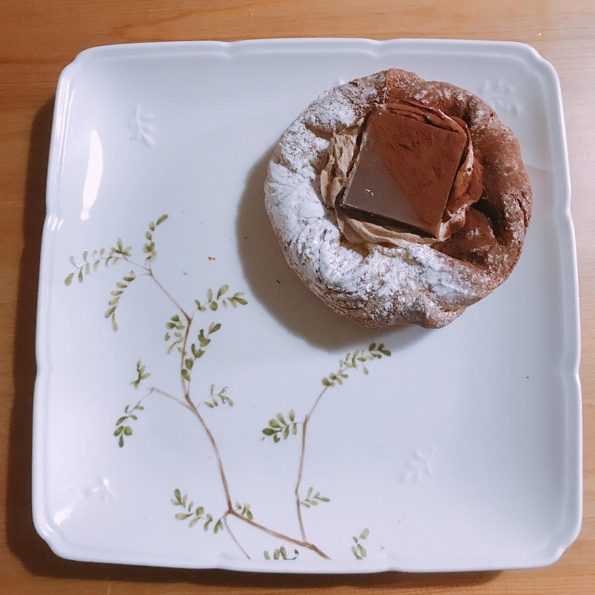 チョコレートのパン写真