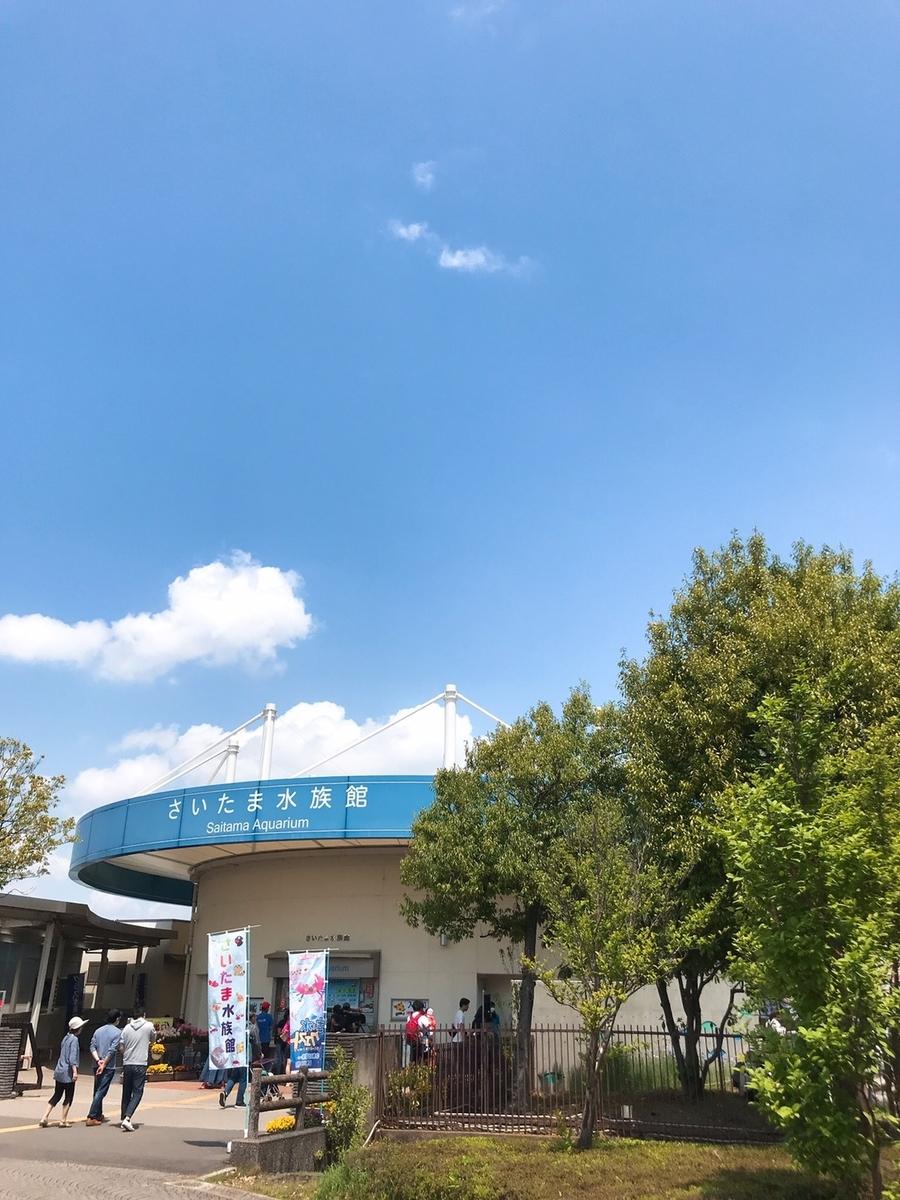 さいたま水族館の外観写真