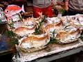 [旅][食]師走の黒門市場(鯛の塩焼き)
