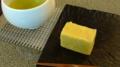 [茶][菓子]うおがし銘茶「茶・銀座」2階、桜の杜伊勢屋の芋ようかん