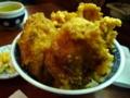 [旅][食事]名駅の割烹イチビキ、いか天丼