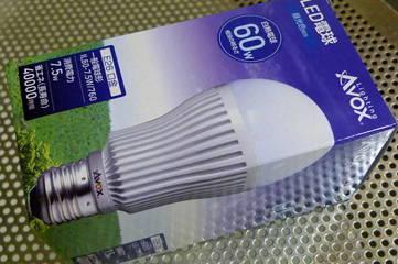 初LED照明ランプ