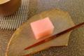 [茶][菓子]うおがし銘茶「茶・銀座」2階、美濃忠「初かつを」