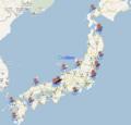 [非日常]日本各地の原発の30km圏