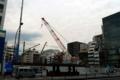 [散歩]東銀座、工事中の歌舞伎座