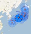 [非日常]日本各地の原発の300km圏