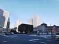 [散歩]改修工事中の東京駅丸の内駅舎