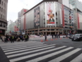 [散歩]東京マラソンで賑わう銀座