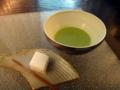 [茶][菓子]うおがし銘茶「茶・銀座」2階、日本茶でホワイトデー♪(3/7〜3/14)