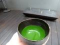 [茶][菓子]うおがし銘茶「茶・銀座」3階、ことのは強火のお濃茶