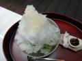 [茶][菓子]うおがし銘茶「茶・銀座」3階、大人のかき氷