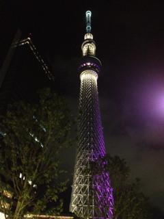 押上の東京スカイツリー