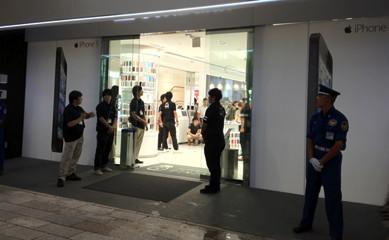 iPhone 5@ソフトバンク銀座