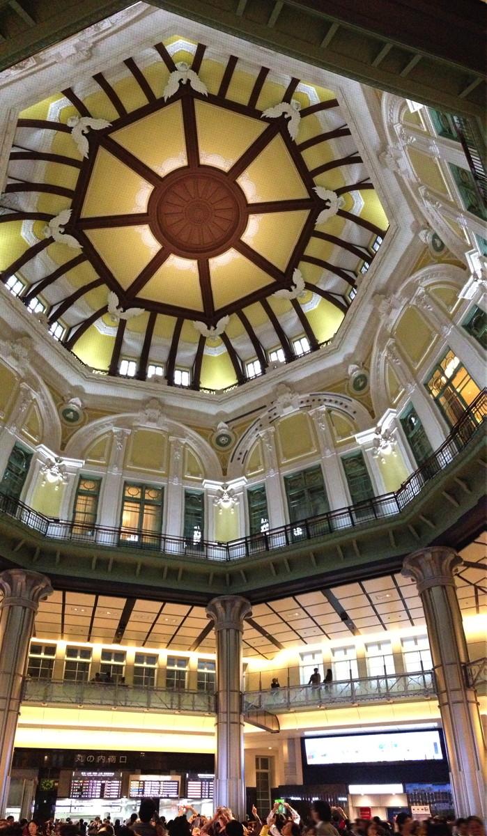 東京駅丸の内駅舎、ドーム天井