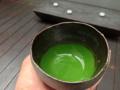 [茶][菓子]うおがし銘茶「茶・銀座」3階、お濃茶