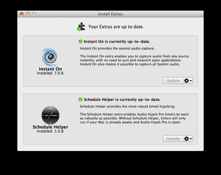 Audio Hijack Pro 2.10.9 BetaはMavericks に対応