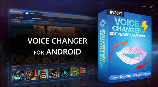 Voice Changer for Android with Bluestacks - Audio/Video Editor