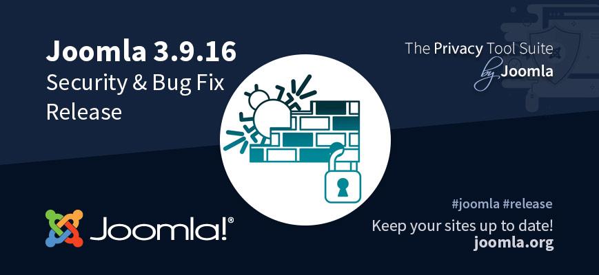 Joomla 3.9.16 Release