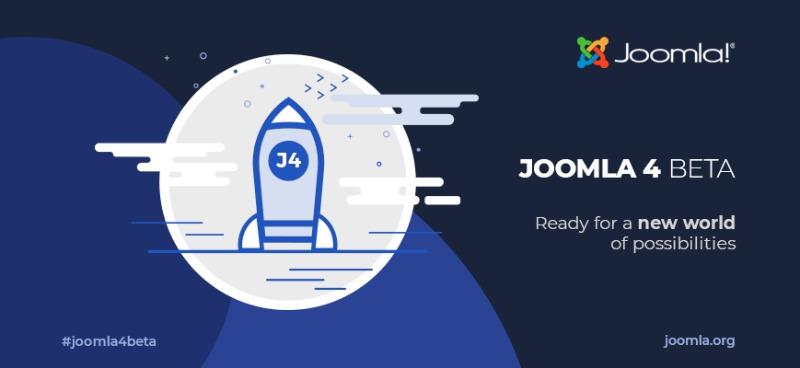 Joomla 4 Beta 3