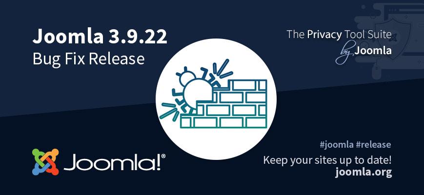 Joomla 3.9.22