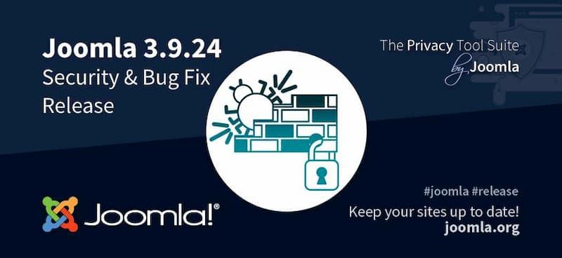 Joomla 3.9.24 Release