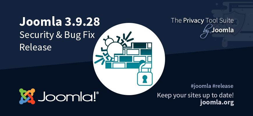 Joomla 3.9.28 Release