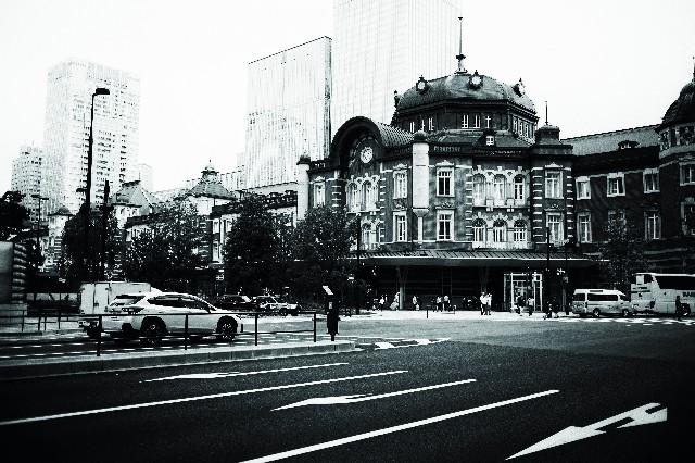 ノスタルジックな東京駅の写真
