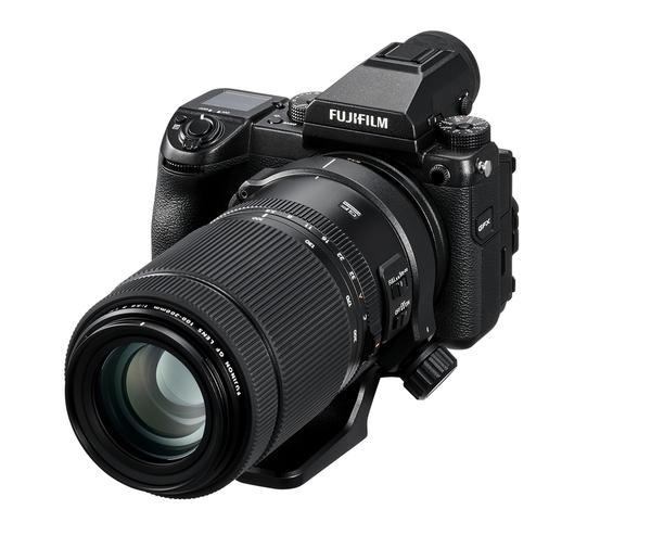 フジノンレンズGF100-200mmの写真