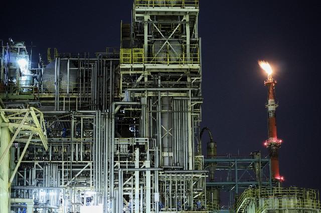 EOSKissMで撮影した川崎工場夜景