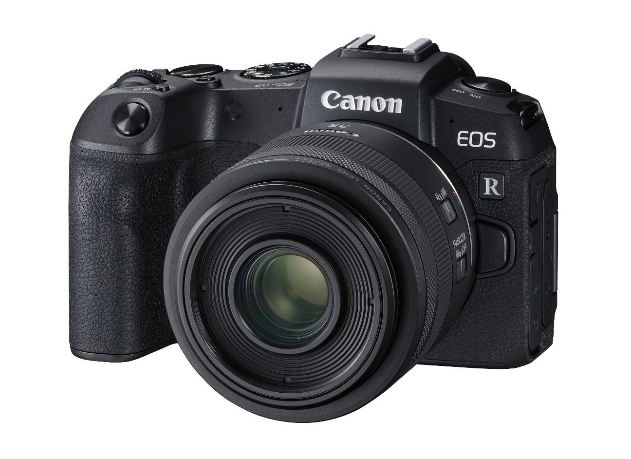 小型軽量なフルサイズミラーレスカメラEOSRP
