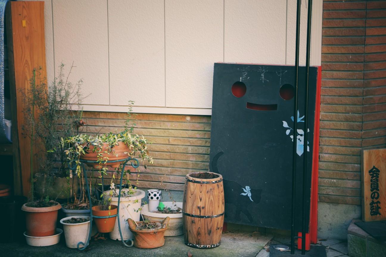 熊本黒川温泉の街角