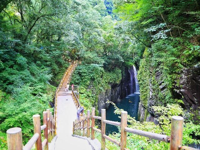 宮崎高千穂峡の滝