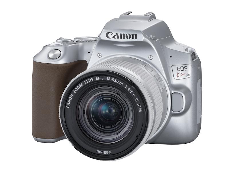 キヤノンの新製品、一眼レフカメラEOS Kiss X10