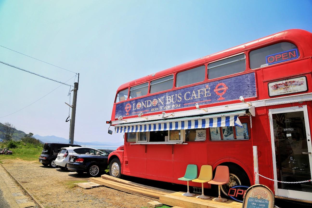 糸島のロンドンバス
