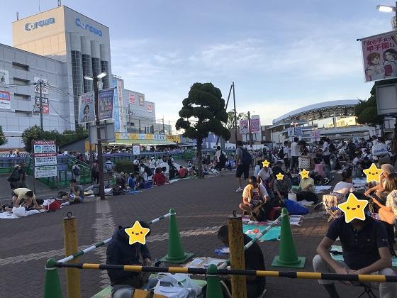 阪神甲子園・高校野球観戦に列