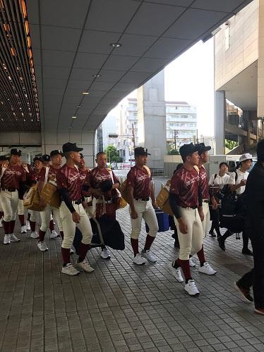 """大阪桐蔭高校の応援団"""""""