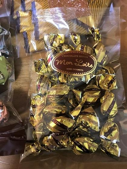 モンロワールの福袋 「アーモンドチョコ」