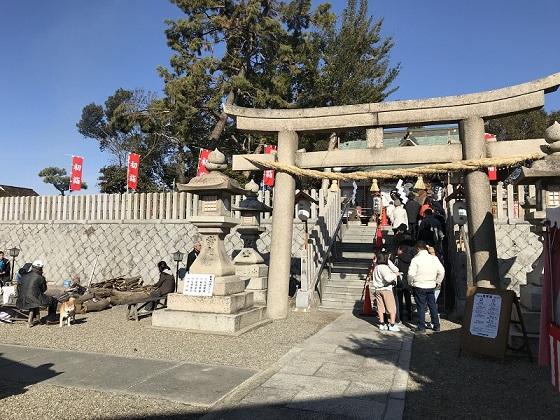 若宮 住吉神社 初詣