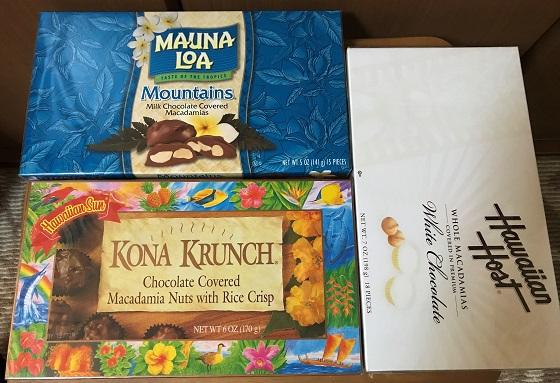 マカデミアナッツチョコレート クランチチョコレート ハワイのウォルマート