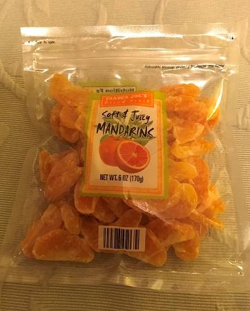 トレーダージョーズ trader joe's ドライフルーツ マンダリンオレンジ