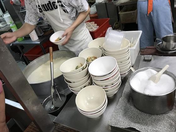台北 美味しい朝食 鼎元豆漿(ディンユァンドゥジャン)