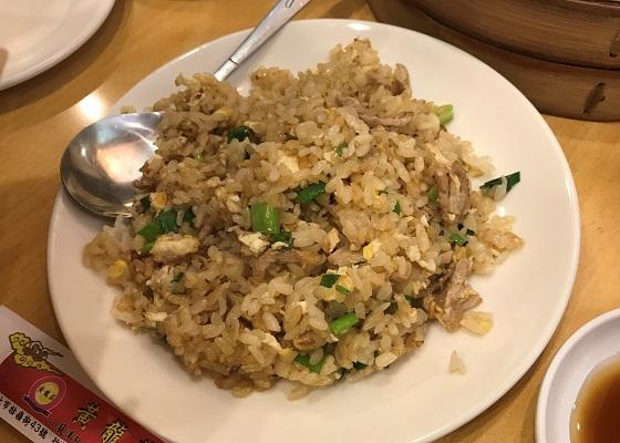 小籠包 台北・黄龍荘 豚肉炒飯