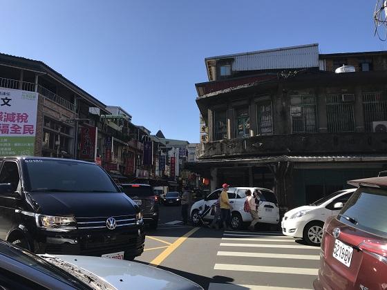 瑞芳(ルイファン)駅前