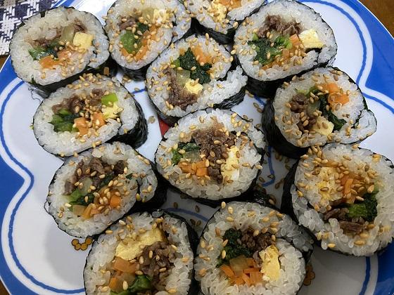 巻き寿司 キンパ