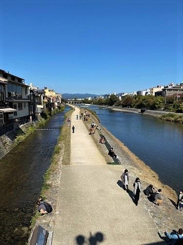 京都 河原町 鴨川