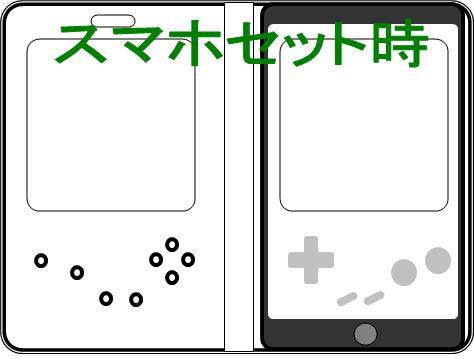 ゲームボーイスマホカバー予想図